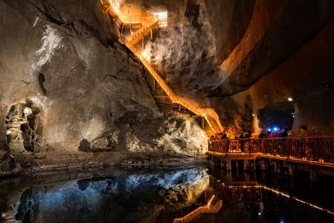 Salt mines Cracow – wycieczka trasą górniczą.